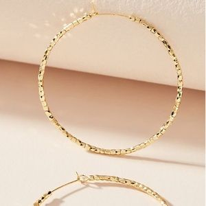Anthropology Susanna Hoop Earrings